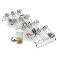 RSVP Endurance Spice Rack and 12-Bottle Set