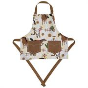 Now Designs Kids Rootin Tootin Laminated Apron