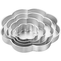 Wilton Performance Petal Cake Pan Set, 2 Inch Deep