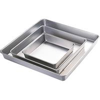 Wilton Performance Square Cake Pan Set, 2 Inch Deep