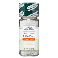 Spice Hunter Brazilian Sea Salt W/Grinder, 4.7 oz.