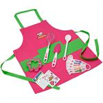 Curious Chef 11 Piece Girl's Chef Kit
