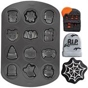 Wilton Halloween Cookie Shapes Non-Stick Pan