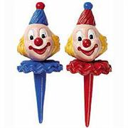 Wilton Small Derby Clowns Topper Set