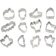 Wilton 12-Pc. Mini Halloween Metal Cookie Cutter Set
