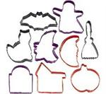 9-Pc. Halloween Metal Cookie Cutter Set