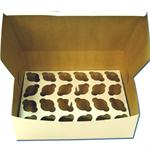 TBK White 2 Dozen Mini Cupcake Box - 2 Piece