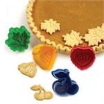 Pie Top Cutters, Set Of 4