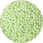 3mm Pastel Green Edible Pearls