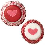 Valentine Hearts Baking Cups
