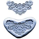 CK Products 3-1/2 Inch Flowers Lace Silicone Mold