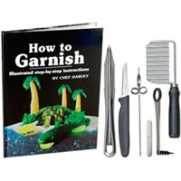 Chef Harvey's How to Garnish Kit