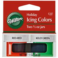 Wilton Holiday Icing Colors Set