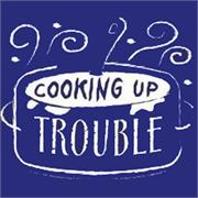 Funny Apron Company Cooking Up Trouble Children's Apron