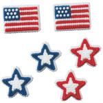 Stars And Stripes Icing Decorations