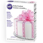 Wilton Ready-To-Use White Rolled Fondant 24 oz. Pkg.