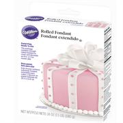 Wilton Ready-To-Use Pastel Pink Rolled Fondant