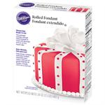 Ready-To-Use Red Rolled Fondant