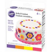 Wilton Rolled Fondant Neon Colors Multi-Pack
