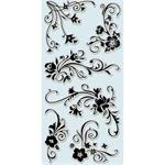 Inkadinkado Clear Stamp Floral Flourishes Set