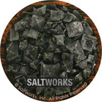 Salt Works Cyprus Black Lava Coarse Salt, 5 oz