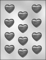 Plain Heart Pieces Chocolate  Mold