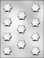 Snowflake Mint Chocolate Mold