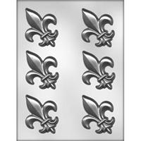 CK Products 3in Fleur De Lis Chocolate Mold