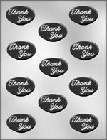 Thank You Chocolate Mold