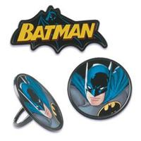 Bakery Crafts Batman Cupcake Rings, 36 Count Pack