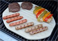 Ceramic Chef Grilling Stone Oblong
