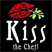 Funny Apron Company Kiss The Chef Adult Apron