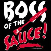 Funny Apron Company Boss of the Sauce Adult Apron