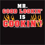 Funny Apron Company Mr. Good Looking Adult Apron