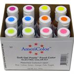 AmeriColor Soft Gel Paste Electric Food Color Kit
