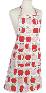 Now Designs Basic Apron, Apple Check