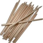 5-1-2 Inch Wooden Candy Apple Sticks