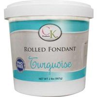 CK Products Turquoise Rolled Fondant 2 lb