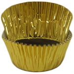 Gold Foil Mini #5 Baking & Candy Cup With Greaseproof Liner