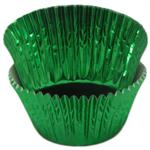 Green Foil Mini #5 Baking & Candy Cup With Greaseproof Liner