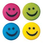 Smiley Faces Sugar Decorations