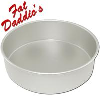 Fat Daddio's Round Cake Pans - 2 inches Deep