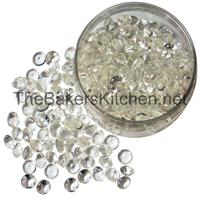 TBK Medium Edible Diamonds 9/16 Inch Diameter-224 per pkg.