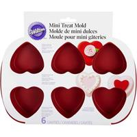 Wilton mini heart treat mold