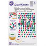 Alphabet Sugar Sheets Edible Decorating Paper