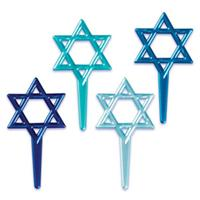 Star of David Cupcake Picks