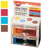 Wilton Primary 4 Icing Colors Set