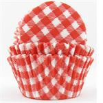 TBK Red Gingham Baking Cups