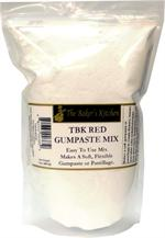 TBK Red Gumpaste Mix - 14 Ounce Bag