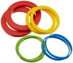 Silicone Rolling Pin Rings, Set of 4